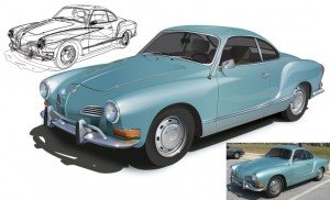 KarmannGhia illustration