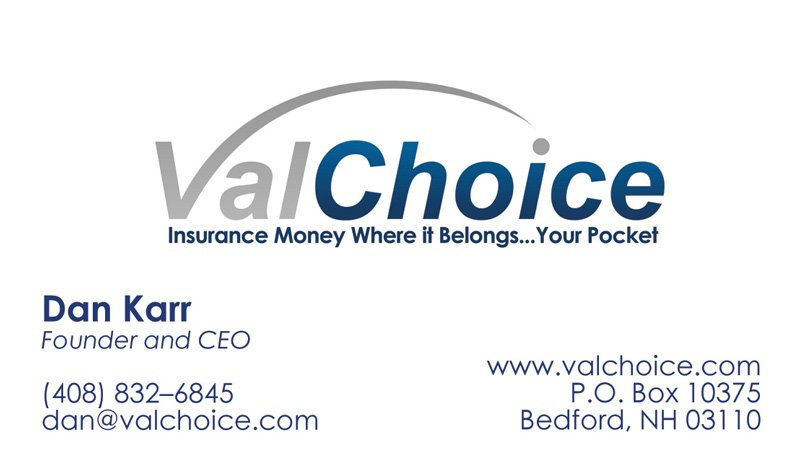 ValChoice business card
