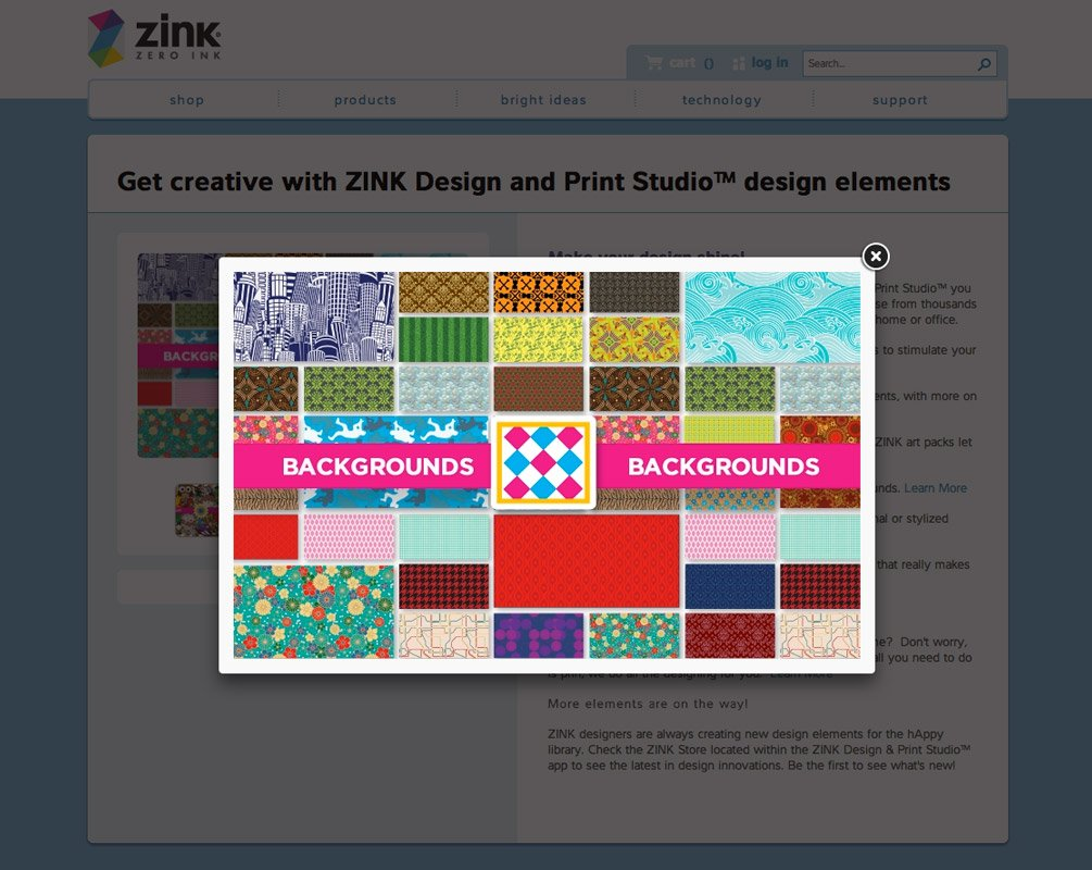 Zink Backgrounds