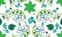 seamless asian pattern for ZINK