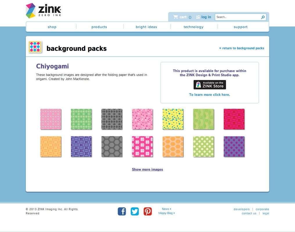 Chiyogami Illustrations ZINK Design & Print Studio