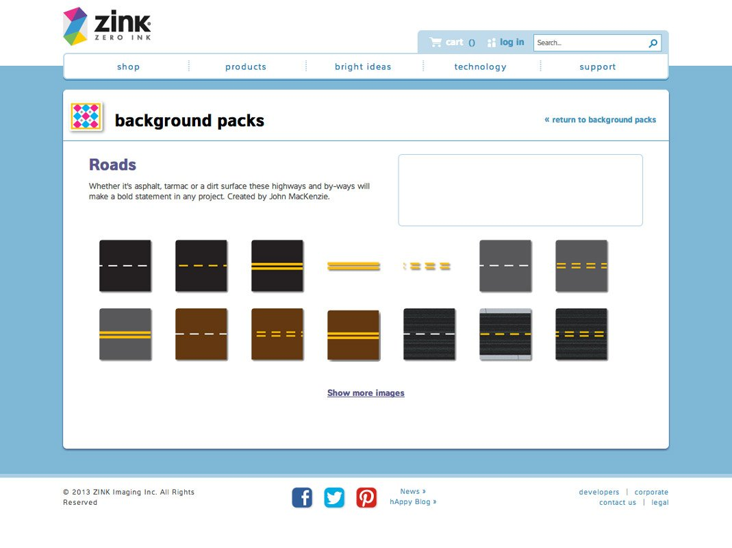 Roads Illustrations ZINK Design & Print Studio