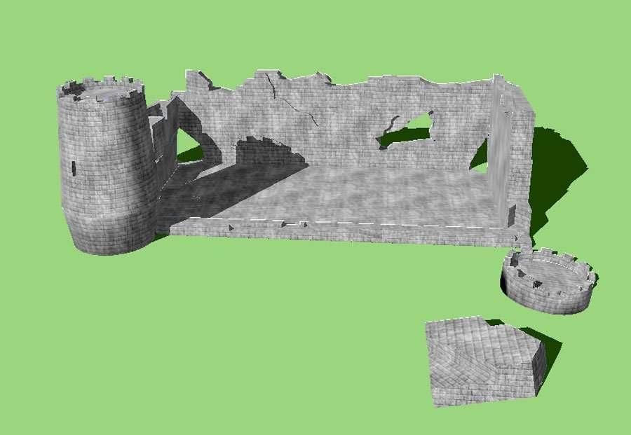 Castle Ruins A