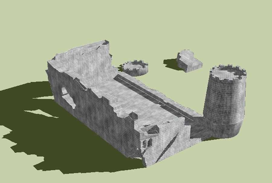 Castle Ruins B