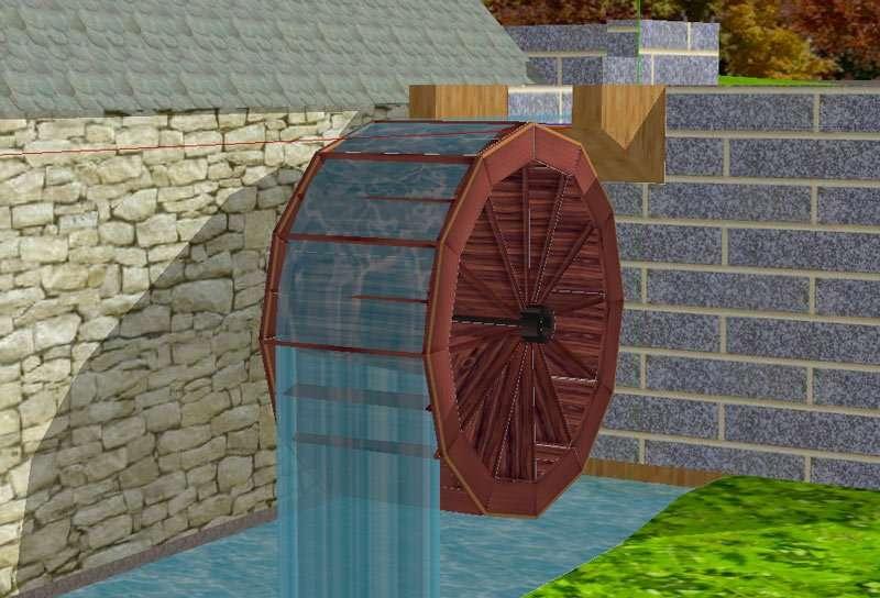 Grist Mill Detail