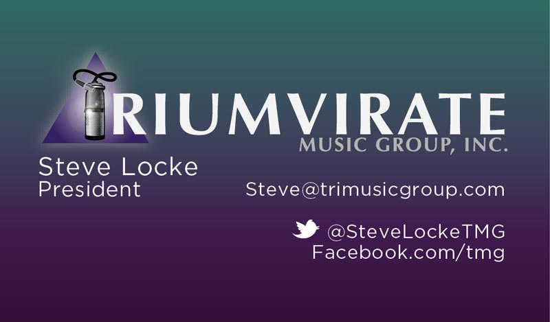Triumvirate Business Card