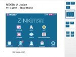 Sample Wireframe for ZINK Store