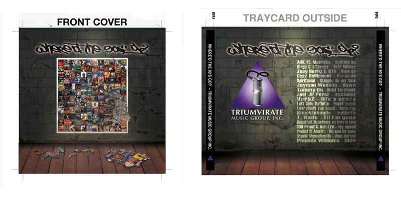 cdcover productpackagingforTriumvirateEvent