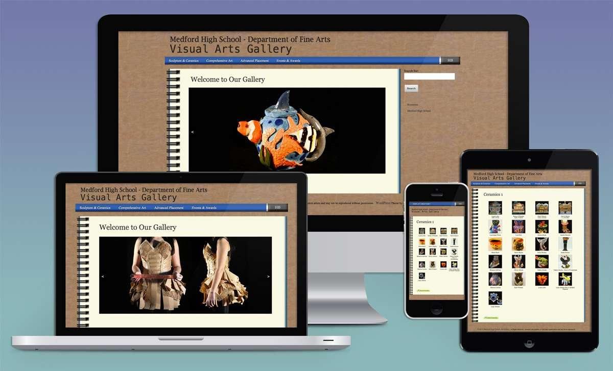 medfordHSartgallery.com Medford High Student Art Gallery