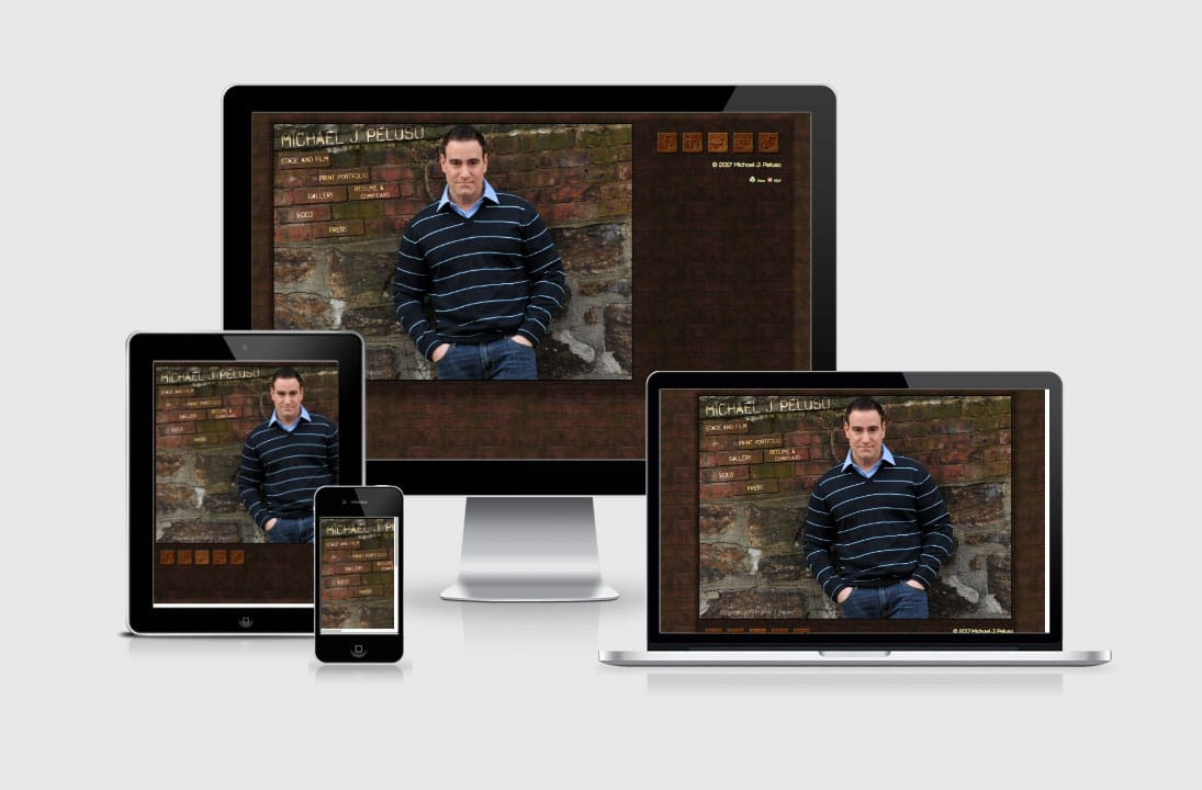 MichaelPeluso,Actor,MichaelJPeluso.com websitere design